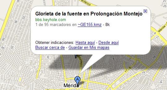 Google Maps calles de mexico