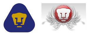 pumas vs ump3 El logo de los PUMAS plagiado