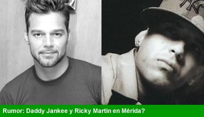 Ricky Martin y Daddy Jankee en la Feria Ixtmakuil en Merida