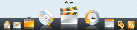 css dock menu Menu estilo Mac, Lista de Mesnus Fish Eye OpenSource