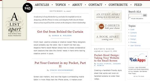 15 ejemplos de como utilizar la tipografia en la web