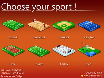 Paquete de iconos de deportes, descarga gratis