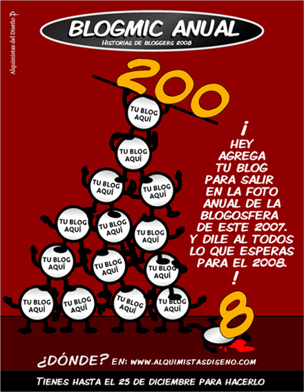Primer Blogmic anual 2008