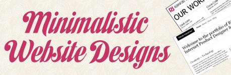 Diseño Web Minimalista