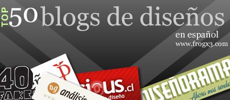 50 blogs de diseño en español