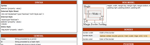 Referencias de CSS