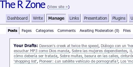 wordpress plugin admin themer