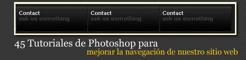 45 Tutoriales para Photoshop