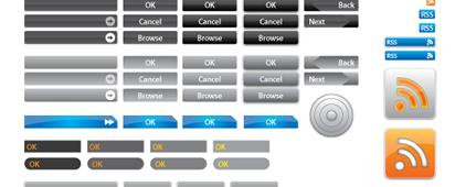 vectores de botones gratis
