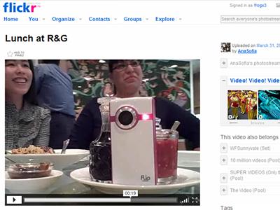 flickr videos