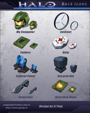 Iconos de Halo