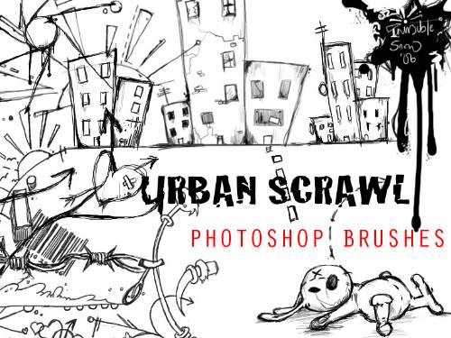 Pinceles Urbanos para Photoshop