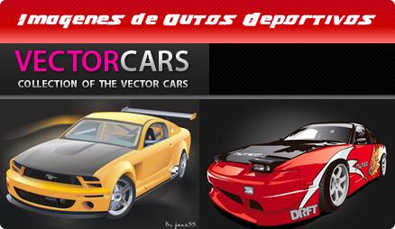 vectores de autos deportivos
