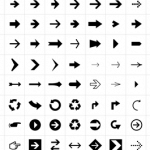 iconos de flechas gratis