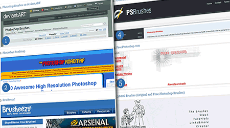 brushes para photoshop 50 sitios con brushes para photoshop gratis