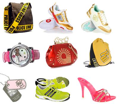 iconos de ropa, zapatos y accesorios