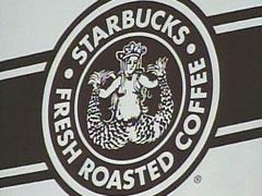 starbucks logo retro