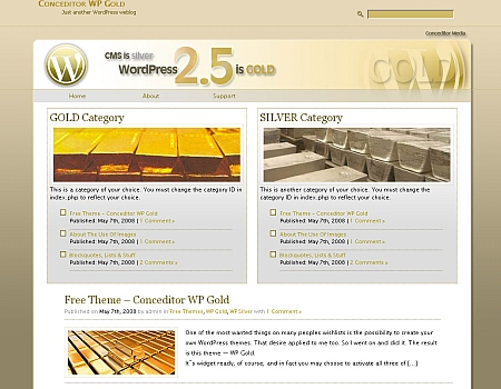 wpgold theme wordpress