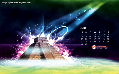eternal Fondos de pantalla con calendario de Junio