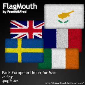 iconos de banderas de europa