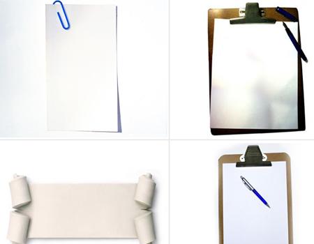imagenes blancas Plantillas de gafetes, tarjetas, señalamientos, botellas y otros