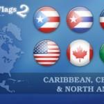 banderas de norte america