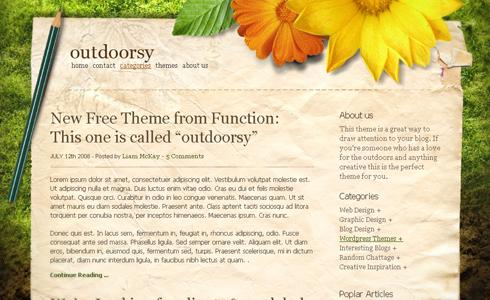 plantilla para wordpress