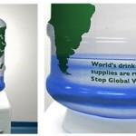 publicidad sobre el cuidado del agua