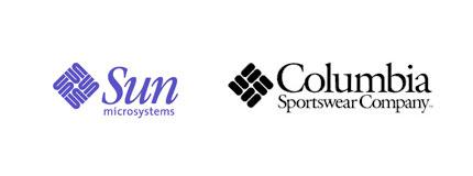 sun columbia logos Logos similares, falta de creatividad o coincidencia