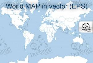 vector del mapa del mundo