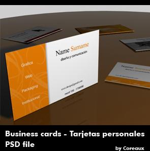 una plantilla para tarjetas de presentación , excelente para diseñar