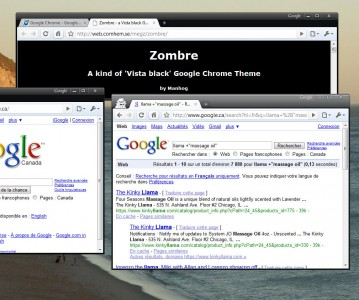 google chrome  zombre dark by manhog 359x300 23 Temas para Google Chrome