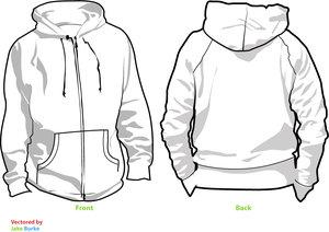 hoodie template v2 by pindlekill 34+ plantillas para diseñar playeras