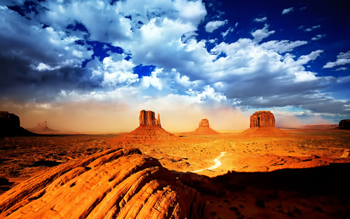 monument valley 100+ fondos de pantalla de paisajes naturales