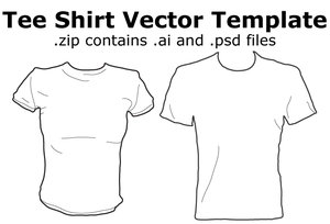tee shirt vector template by madnessism 34+ plantillas para diseñar playeras