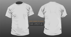 tshirt vector template v2 0 by gopurifyyourself 34+ plantillas para diseñar playeras