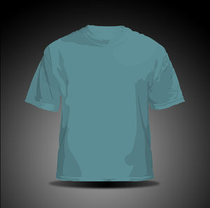 vector t shirt   blue by hellfire109 34+ plantillas para diseñar playeras