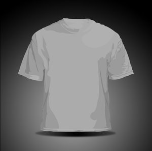 vector t shirt   gray by hellfire109 34+ plantillas para diseñar playeras