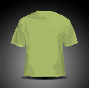 vector t shirt   green by hellfire109 34+ plantillas para diseñar playeras