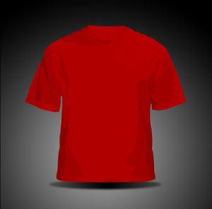 vector t shirt   red by hellfire109 34+ plantillas para diseñar playeras