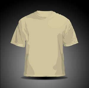 vector t shirt   tan by hellfire109 34+ plantillas para diseñar playeras