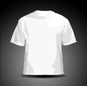vector t shirt   white by hellfire109 34+ plantillas para diseñar playeras