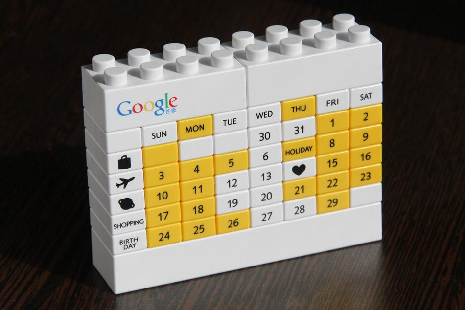 20 dise os de calendarios creativos frogx three - Disenos de calendarios ...