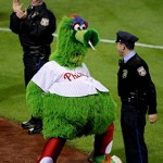 mascota de los phillies