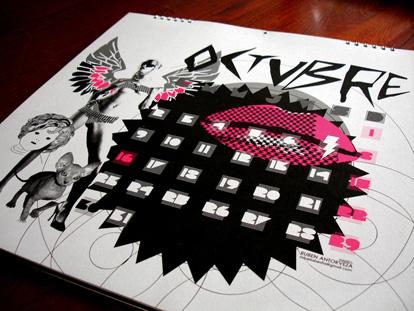 calendario 4 32 ejemplos de diseños de calendarios impresos