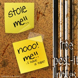 free post it notes by bobbyperux 100+ archivos PSD para descargar gratis