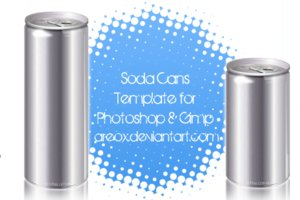 gimp and ps soda can template by areox 100+ archivos PSD para descargar gratis