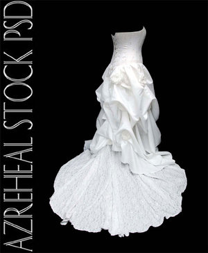 wedding dress 1 by azreheal 100+ archivos PSD para descargar gratis