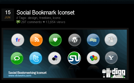01 21 social bookmark iconset 40 paquetes para descargar iconos gratis