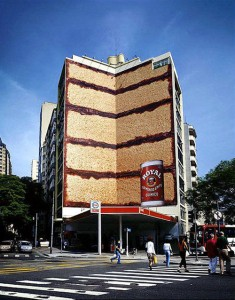 publicidad creativa edificios